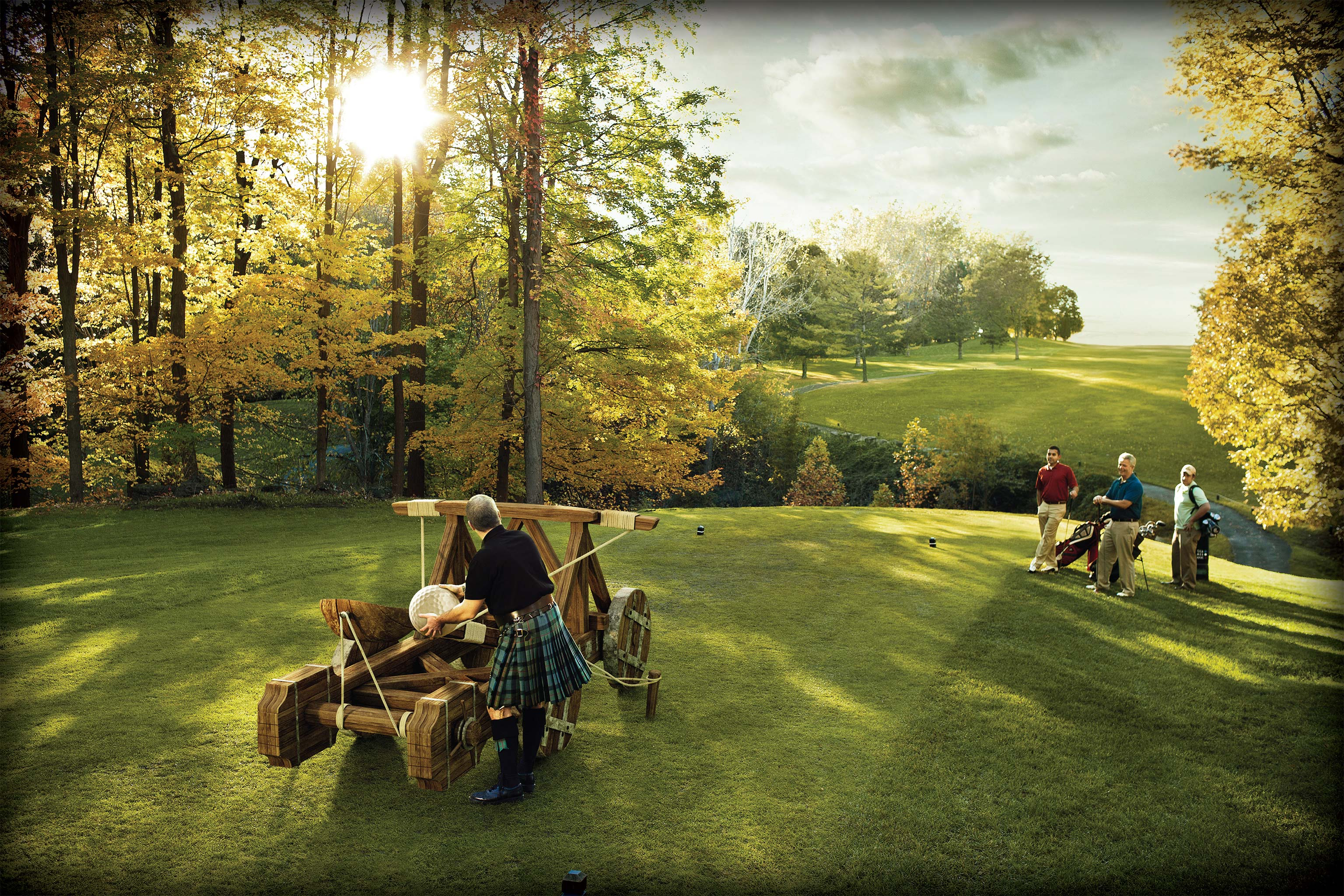 middleages golf