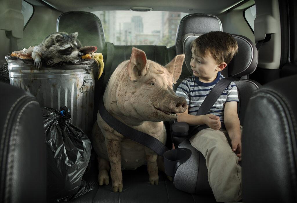 Purolator Pig